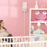 Perfekt eingerichtetes Babyzimmer