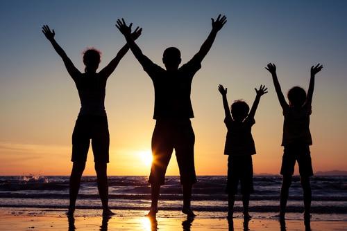 Reise ins Ausland mit Kindern